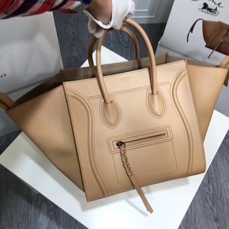 fae559cd1369 Celine LUGGAGE PHANTOM Tote Bag A3372 Apricot