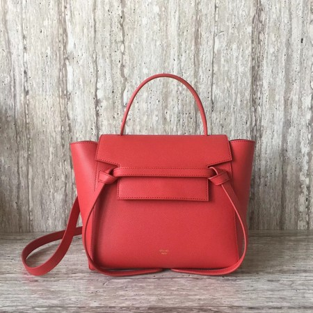 Celine BELT BAG MINI Tote Bag 98310 red