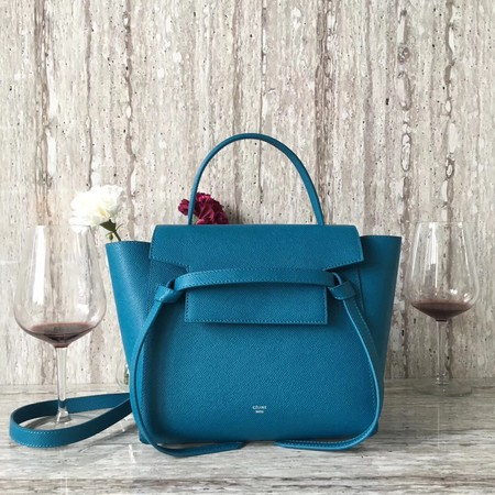 Celine BELT BAG MINI Tote Bag 98310 blue