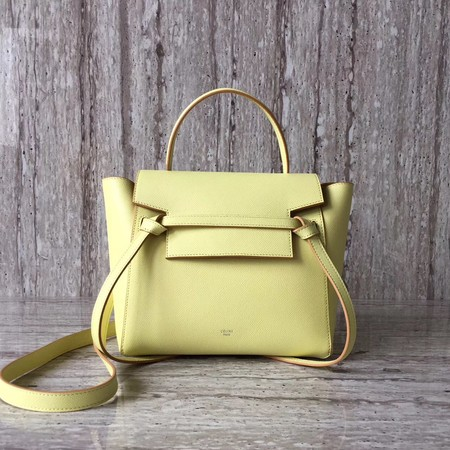 Celine BELT BAG MINI Tote Bag 98310 yellow