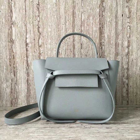 Celine BELT BAG MINI Tote Bag 98310 Light blue