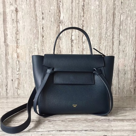 Celine BELT BAG MINI Tote Bag 98310 Dark blue