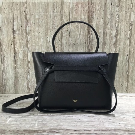 Celine BELT BAG MINI Tote Bag 98310 black