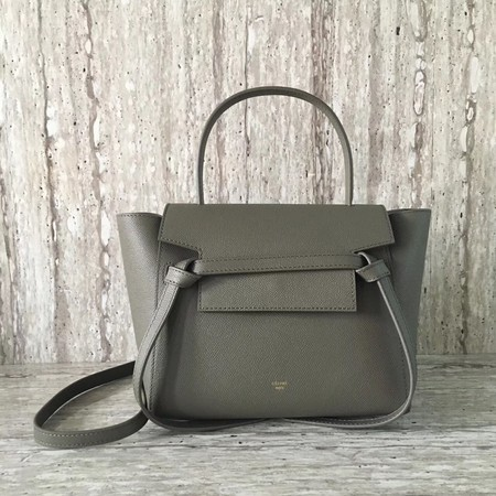 Celine BELT BAG MINI Tote Bag 98310 Grey