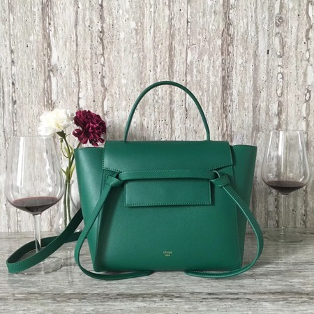 Celine BELT BAG MINI Tote Bag 98310 green