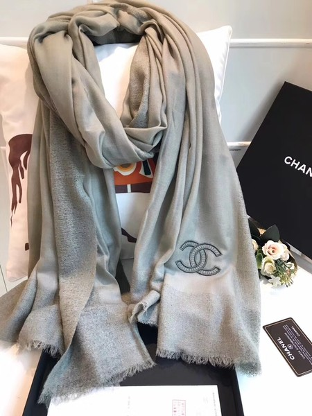 2017 top quality Chanel scarf A2836 Dark green