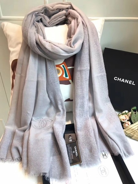 2017 top quality Chanel scarf A2836 grey