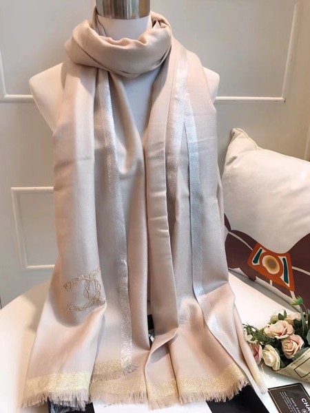 2017 top quality Chanel scarf A2837 apricot