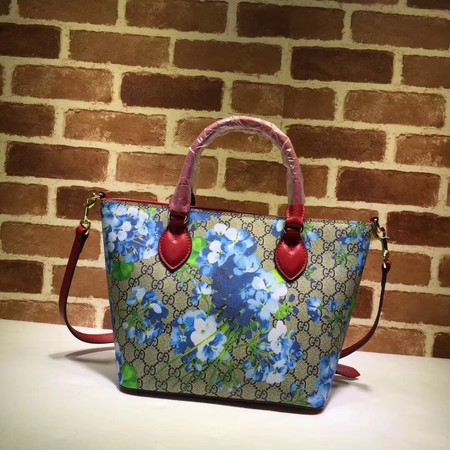 Gucci Canvas Tote Bag A432124 red