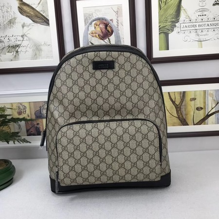 GUCCI GG Canvas Backpack 406370 black