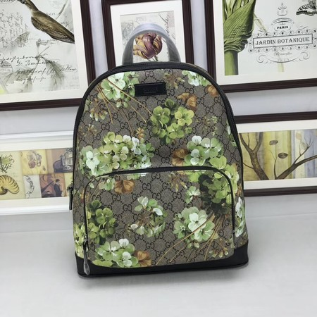 GUCCI GG Canvas Backpack 406370 green