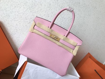 Hermes Birkin 35CM Tote Bag Original Togo Leather BK35 pink