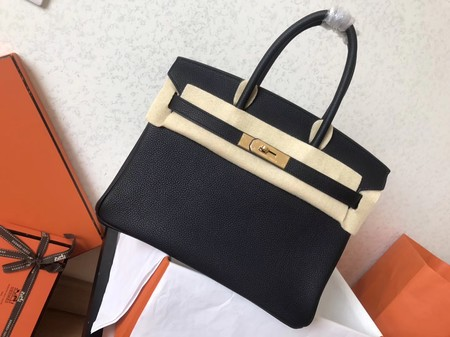 Hermes Birkin 35CM Tote Bag Original Togo Leather BK35 black