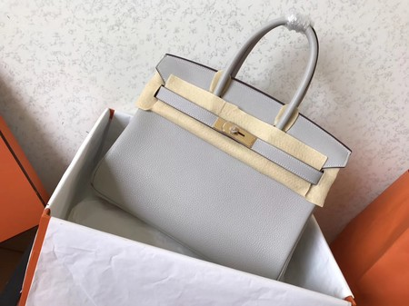 Hermes Birkin 35CM Tote Bag Original Togo Leather BK35 Beige