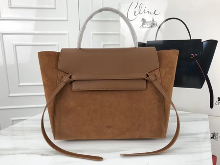 Celine Belt Bag Origina Suede Leather A98311 brown