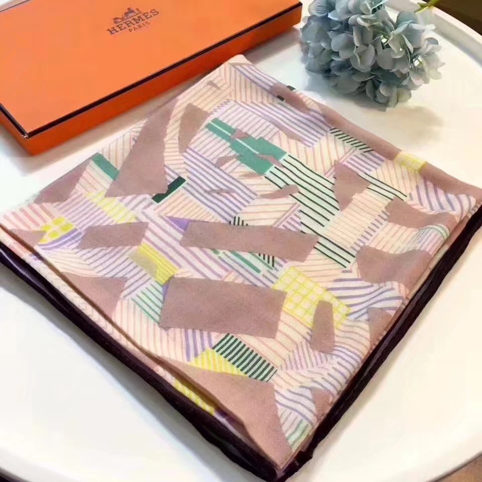 Hermes Cashmere scarf H9211