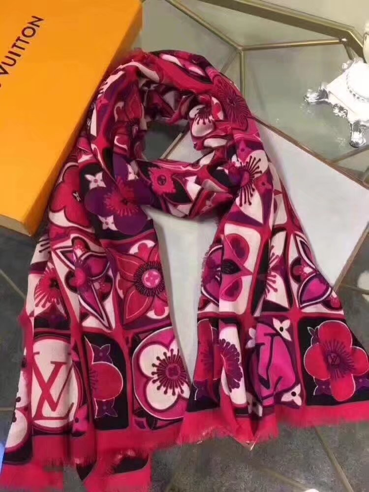 louis vuitton Cashmere scarf LV9226 rose