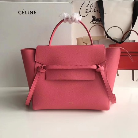 Celine Belt Bag Origina Leather Tote Bag A98311 rose