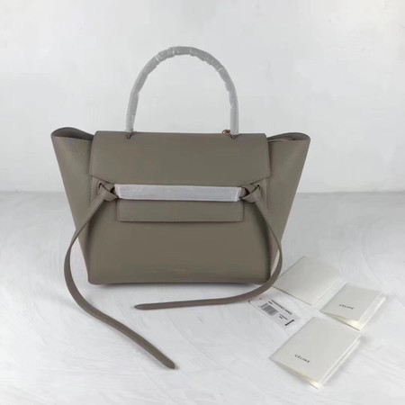 Celine Belt Bag Original Leather Tote Bag 9984 grey
