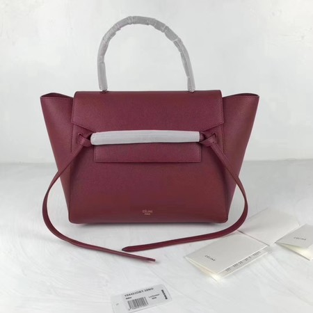 Celine Belt Bag Original Leather Tote Bag 9984 wine