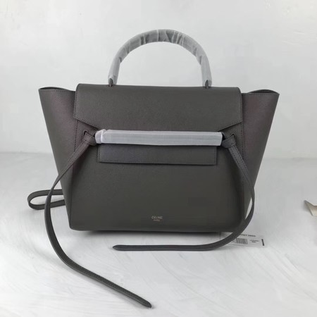 Celine Belt Bag Original Leather Tote Bag 9984 dark grey