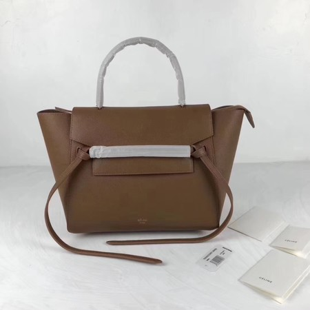 Celine Belt Bag Original Leather Tote Bag 9984 brown