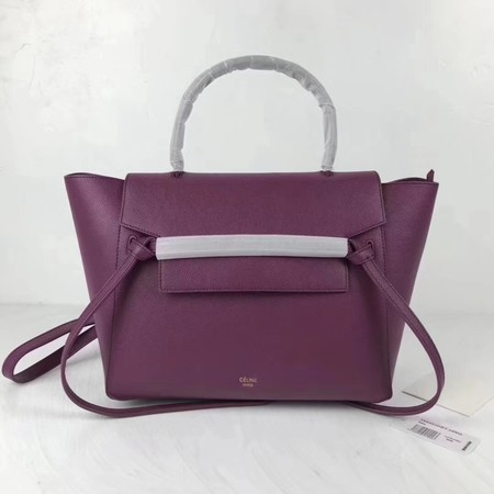 Celine Belt Bag Original Leather Tote Bag 9984 Purple