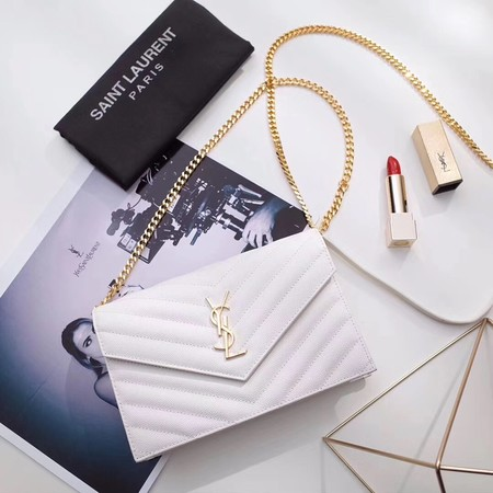 Yves Saint Laurent hot style shoulder bag 393953 white