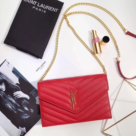 Yves Saint Laurent hot style shoulder bag 393953 red