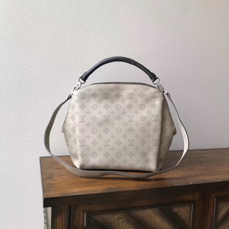 Louis Vuitton original Mahina Leather BABYLONE M50032 grey