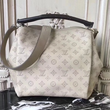 Louis Vuitton original Mahina Leather BABYLONE M50031 grey