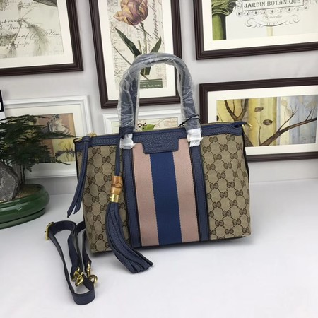 Gucci GG Canvas Top Handle Bags A353114 blue