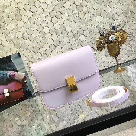 Celine Classic Box Small Flap Bag Calf leather 5698 Lilac