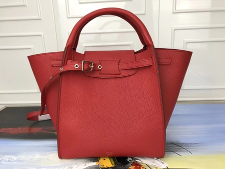 Celine the big bag calf leather Tote Bag 3479 red