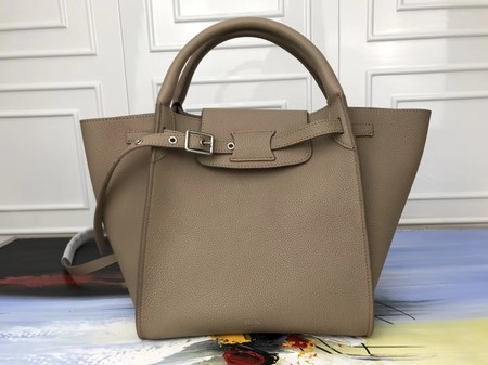 Celine the big bag calf leather Tote Bag 3479 Khaki