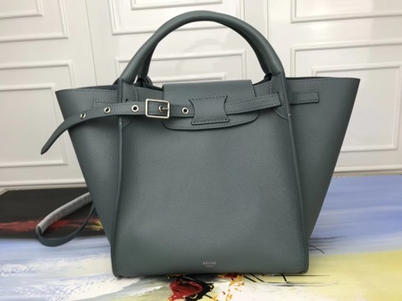 Celine the big bag calf leather Tote Bag 3479 green