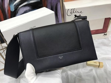 Celine frame Bag Original Calf Leather 5756 black