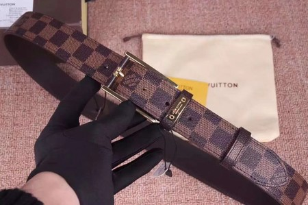 Louis Vuitton Calf leather Belt wide 3.5CM 2275 brown