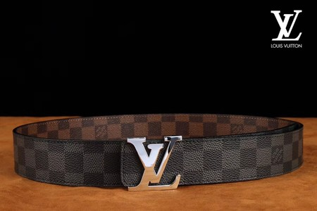 Louis Vuitton Calf leather Belt wide 3.8CM 2270