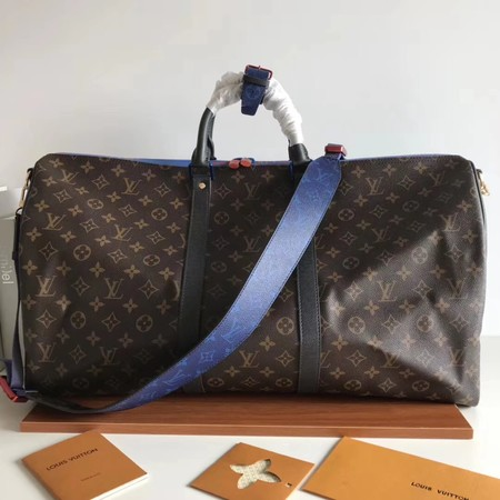 Louis Vuitton Monogram Canvas Keepall 50CM with Shoulder Strap 43817