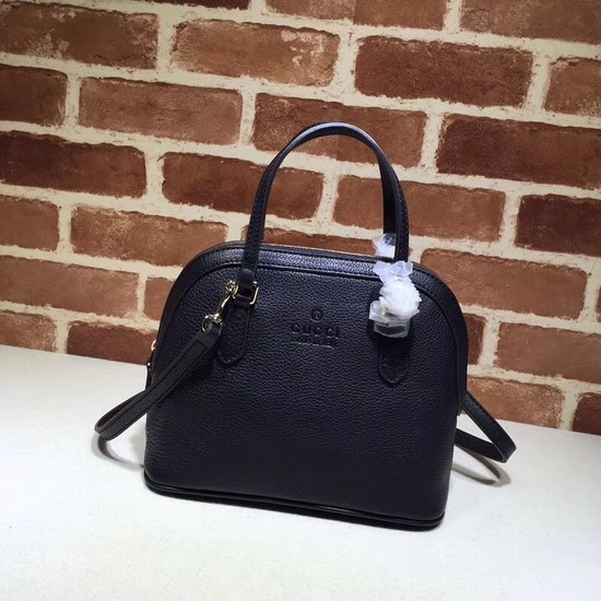 Gucci Signature Leather tote Bag 341504 black