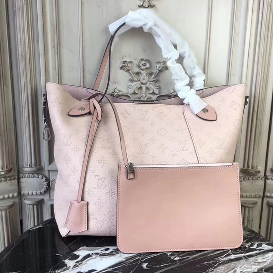 Louis Vuitton Original Mahina Leather HINA Bag M53140 pink