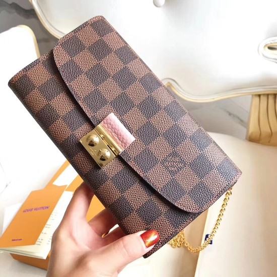 Louis Vuitton Original Damier Ebene Canvas CROISETTE N61273