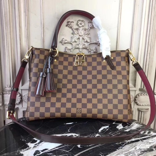 Louis Vuitton Original Damier Ebene Canvas LYMINGTON 40022
