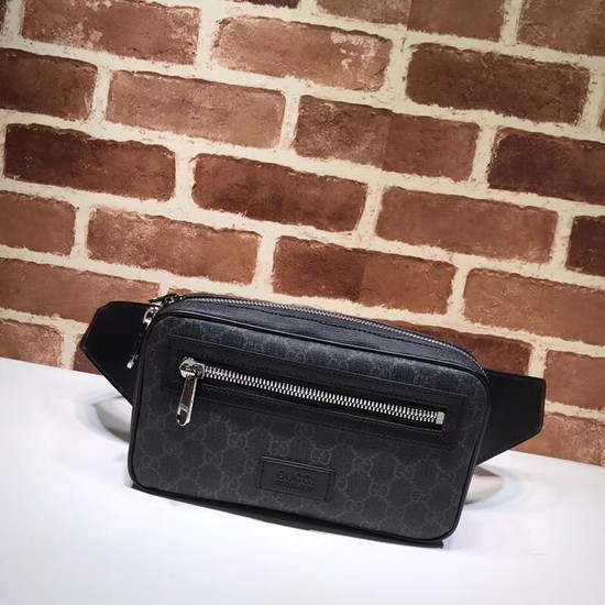 Gucci Soft GG Supreme belt bag 474293 black