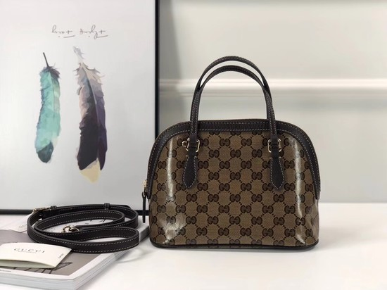 Gucci GG Supreme Canvas tote bag 341504 Brown