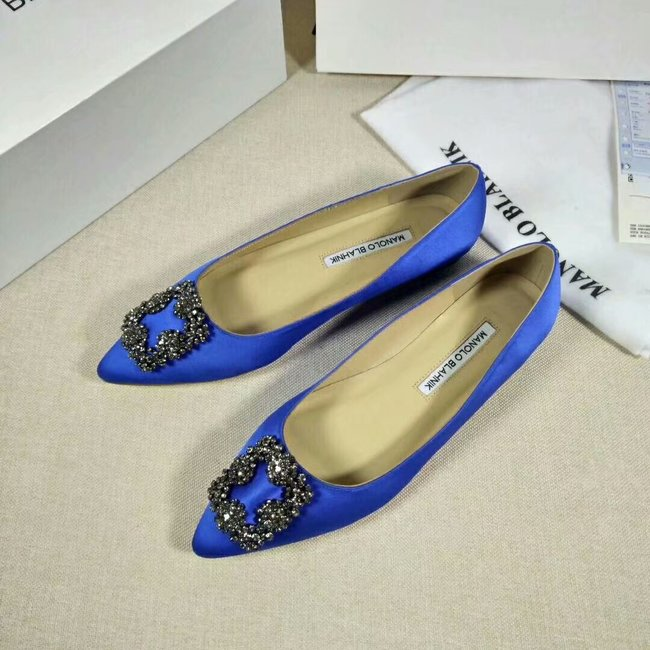 Manolo Blahnik lady Casual shoes MB144H blue