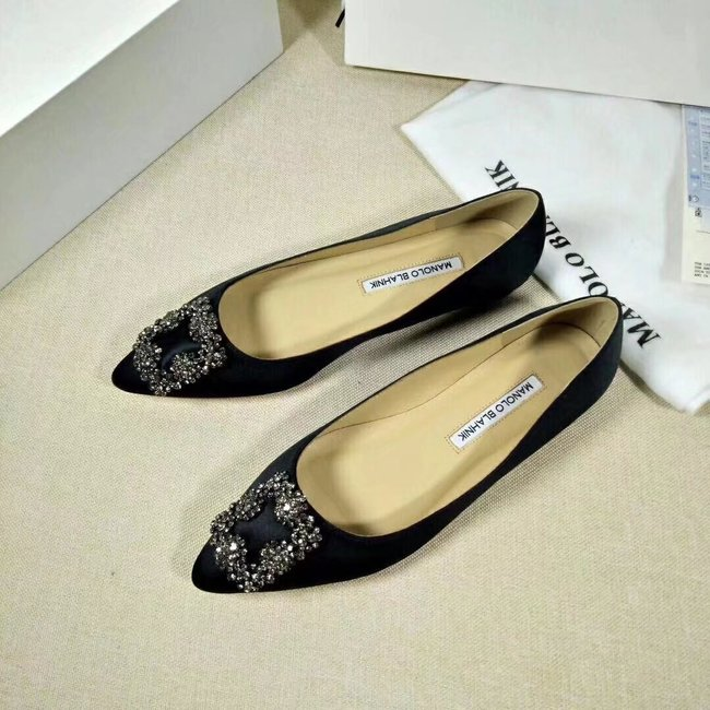 Manolo Blahnik lady Casual shoes MB144H black