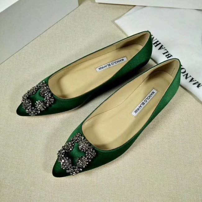 Manolo Blahnik lady Casual shoes MB144H green