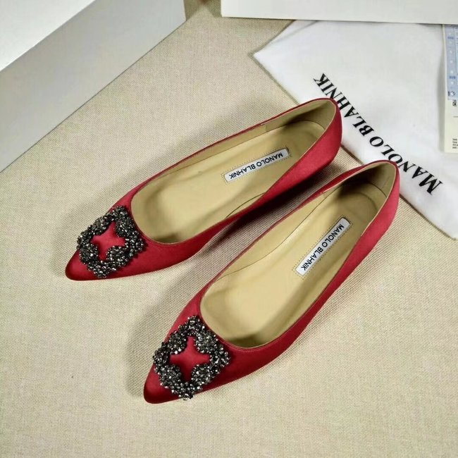 Manolo Blahnik lady Casual shoes MB144H red